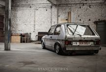 VW Golf mk 1, 2