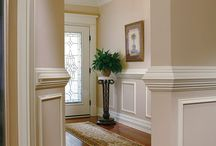 Molding and wainscoting