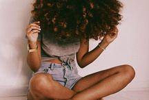 Natural hair inspo / Natural hair inspiration