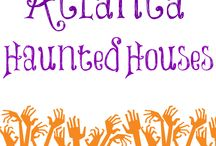 Atlanta Haunted Houses / Find the scariest, most fun, haunted houses in Atlanta Georgia.