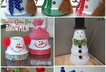 terra cotta holiday crafts
