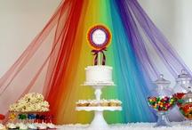 Rainbow Princess Birthday Party / Ideas for Tilly's 5th Birthday / by Robin Hoskins
