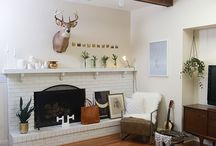 Fireplace without chimney breast?