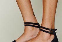 Zapatos de plataforma y bailarina