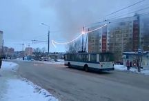 Viral Video - VIDEO - Bus Short Circuit in Russia
