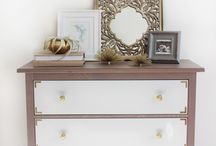 Cool Dresser and Side-Board Ideas / Revamped and re-purposed dressers and so on....