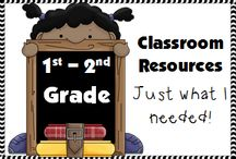 1st-2nd Grade Classroom Resources / A Pinterest board full of ideas, activities, blog posts, products, freebies, task cards, bulletin boards and resources for the 1st-2nd Grade Classrooms. / by Stacy @Teacher's Take-Out
