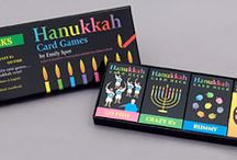Hanukkah Fun for Kids / Fun, educational books and games with colorful graphics and stylish design by Emily Sper.