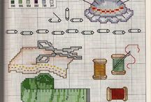 Cross stitch ~sewing stuff