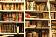 Bibliothèque , vieux livres