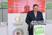 Premiazione a Johannesburg - 2014 / Marchio Ospitalità Italiana Award 2014 - 6 Novembre 2014 presso il Sandton Convention Centre di Johannesburg