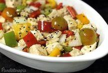saladinhas de tofu