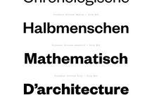 Fonts I'd like to use