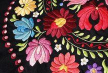 ハンガリー刺繍 / 美しいハンガリー刺繍作品を集めます。