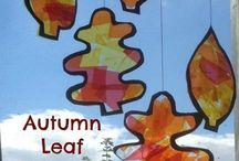 Kids craft autumn