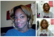 Our Beautiful Customers: / Our beautiful customers wearing our hair!