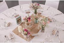 Tisch Deko runde Tische
