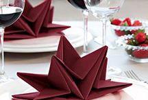 Weihnachten-Tisch