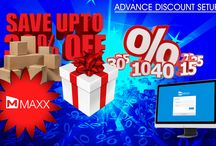 Advance Discount Setup / Advance Discount Setup feature provides varieties of discount types which help the users to allocate discounts in a customized way... http://maxxerp.blogspot.in/2013/12/advance-discount-setup-advance-discount.html