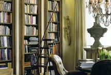 Könyvtár - Library, bookcases