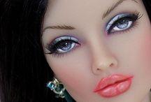 DOLL FACE / BeauTious dolls / by Deirdre Monique Austin