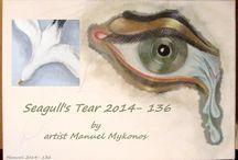 video clip Seagull's Tear 2014-136 / painting by artist Manuel  #manuelartwork    #surrealistsculptor    #painter   #surrealsculpture   #painting    #Mykonos #sculptsurrealism #manuelsurrealist #mykonosart #manuelmykonos