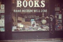 Vintage book shop