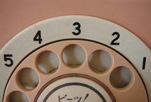 Hello, Operator? Vintage Phones / Vintage telephones  / by Va-Voom Vintage