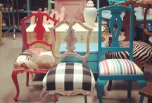 Krzesla malowane