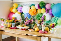 Party Time / Who doesn't love a beautiful party.  Here's some beautiful decoarting ideas.