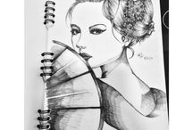 Pencil Drawing / Cr : Elaine Nathania