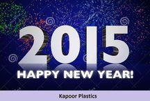 Happy New Year 2015 From Kapoor Plastics