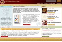 ADABI / http://adabi.org.mx/ Desarrollado en su totalidad en .JSP y usando administradores de contenido, se pueden interrrelacionar artículos, con una basta base de datos de obra bibilográfica, que puede ser exportada para su consulta offline