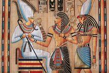 ΑΙΓΥΠΤΙΑΚΗ ΖΩΓΡΑΦΙΚΗ...EGYPTIAN PAINTING .. / Αρχαίος Αιγυπτιακός Πολιτισμός....Ancient Egyptian Culture ... Τοιχογραφίες..Ζωγραφική...Πάπυροι...Egyptian art.....