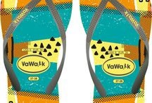 Vawalk / Flip-flops product design for VAWALK, in this project a company asked me multiple flipflop designs which I enjoyed so much developing design ideas, color combination, graphic design and mock-ups. #flipflop #footwear #fashion