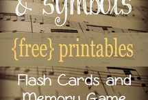 Music Flashcards & Lapbook