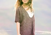The Hikari Collection / Introducing the Hikari collection, a collaboration with Japanese knitwear designer michiyo.   Each garment in this five piece collection is worked up in The Fibre Co.'s Meadow yarn, a textured blend of baby llama, silk, linen and fine Merino wool.  Hikari, or 'light' in Japanese, is a perfect name for the collection as it represents the lightness of the yarn and the lovely fabric it creates.