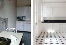 Before and After / Before and After pictures from A+B Kasha renovated and redesigned apartments in Paris