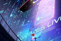 Future, Digital, SF / 미래, 디지털, 공상