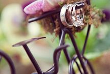 Bicycle Wedding Ideas / If you and your special someone love to hop on a tandem bicycle and enjoy some time together, using bicycle accents in your ceremony and reception may be a fun way to bring some personality to your wedding.