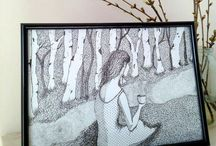 My ilustration / ilustrace, perokresba, malba