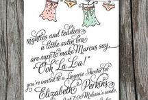 Weddings - Bridesmaids (Duties and Dresses)!