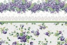 Wallpaper for Dollshouses / Printable Wallpaper and samples