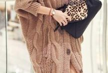 it's getting cold / winter fashion