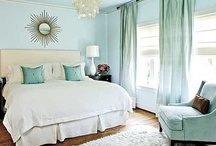 Cozy Master Bedroom Teal & Pink Inspo / Teal Bedroom with Pink and Neutral Accents