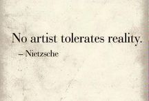 Inspiration / Inspiring quotes by great artists.