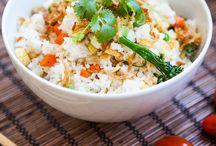 recepty rýže