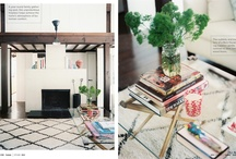 Future House Ideas / To keep me on track - lots of contrast, wood and white, streamlined yet warm, pops of color, cement tiles?, mix of metals, store-front windows if that's in the budget, an amazing outdoor space (with a pool?) . . . I could go on forever.  :) / by It's Great to Be Home