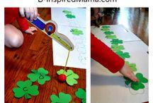 St Patrick 's Day ideas for preschool  / by Andrea Kelley