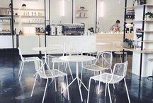 The Visit Coffee Roastery - Berlin / Projekt i realizacja palarni kawy The Visit Coffee w Berlinie, realizowane przez firmę BenLER //  Design and implementation of The Visit Coffee Roastery in Berlin - by BenLER company.